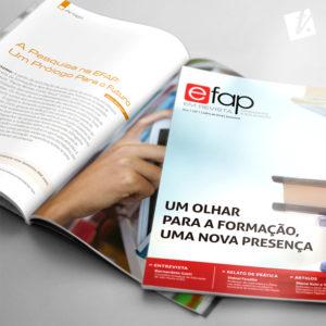 Mockup EFAP em Revista